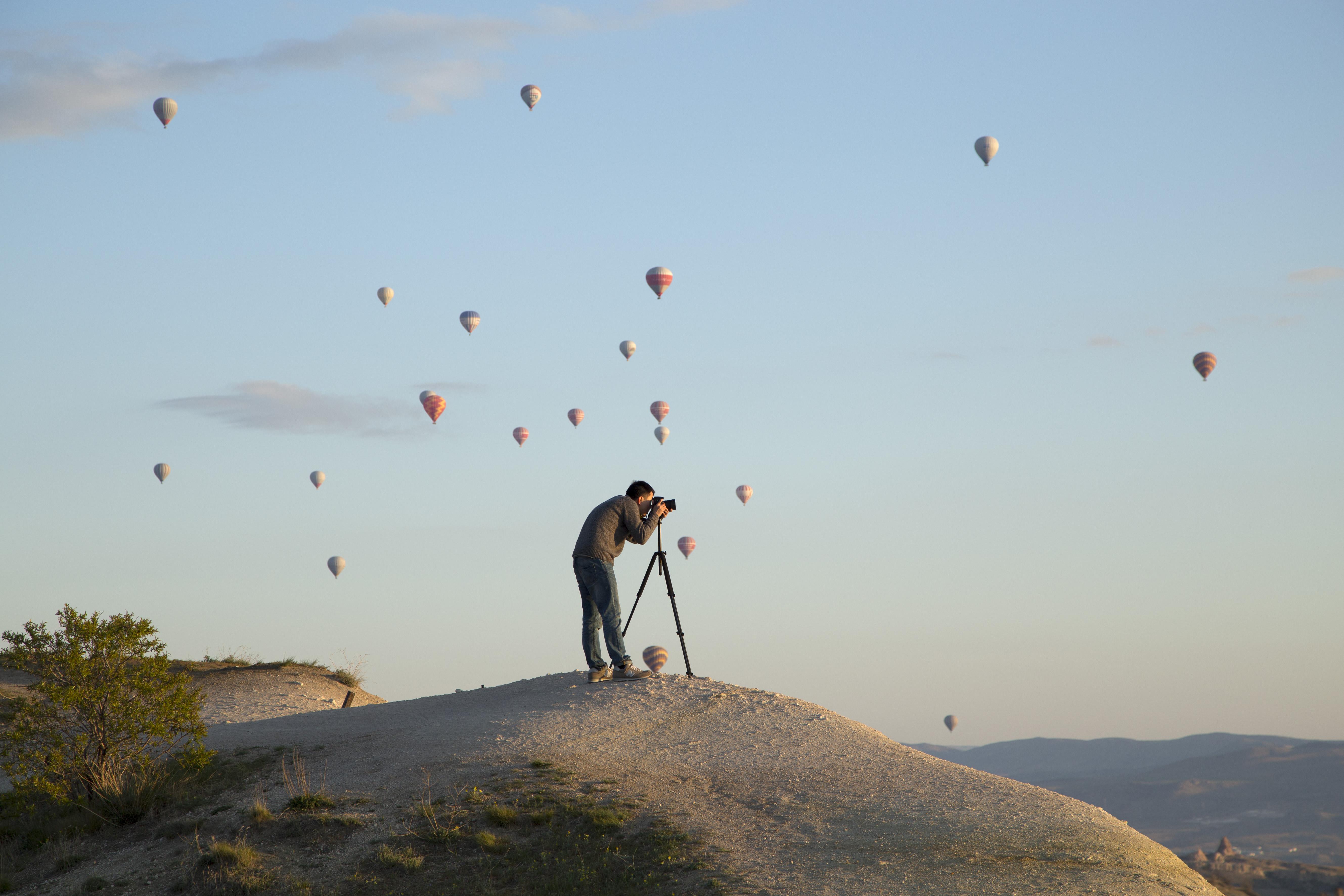 Goreme Turkey - Photographing Cappadocias Hot Air ...